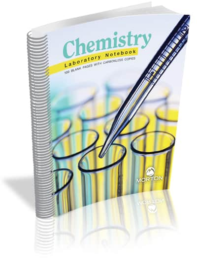 Chemistry Laboratory Notebook: 100 Pages with Carbonless Copies