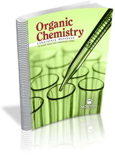 Organic Chemistry Laboratory Notebook: 100 Pages with Carbonless Copies