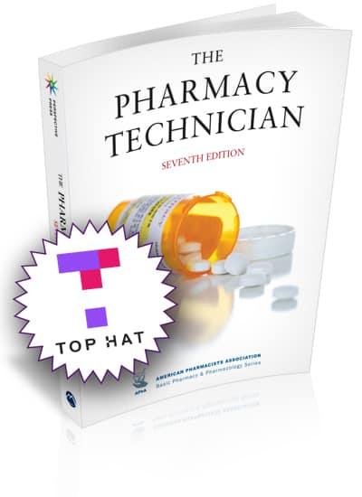 MortyPak Bundle: Pharmacy Technician, 7e (print edition) bundled with the Top Hat digital platform